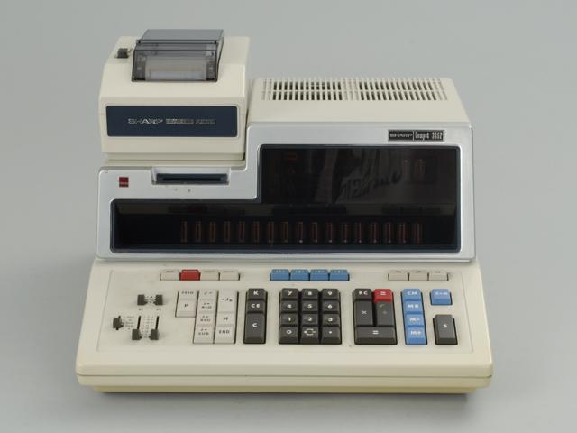 電子卓上計算機 Compet 363p
