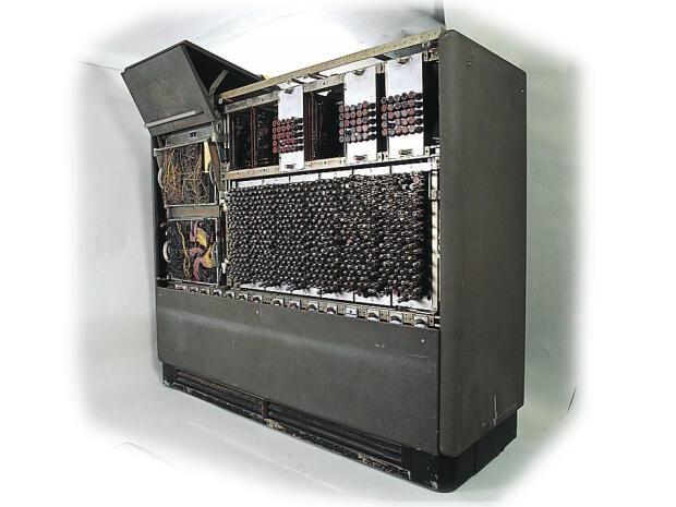 真空管式コンピュータ